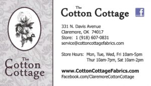 The Cotton Cottage, Claremore, OK
