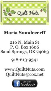 Quilt Nuts, Sand Springs, OK