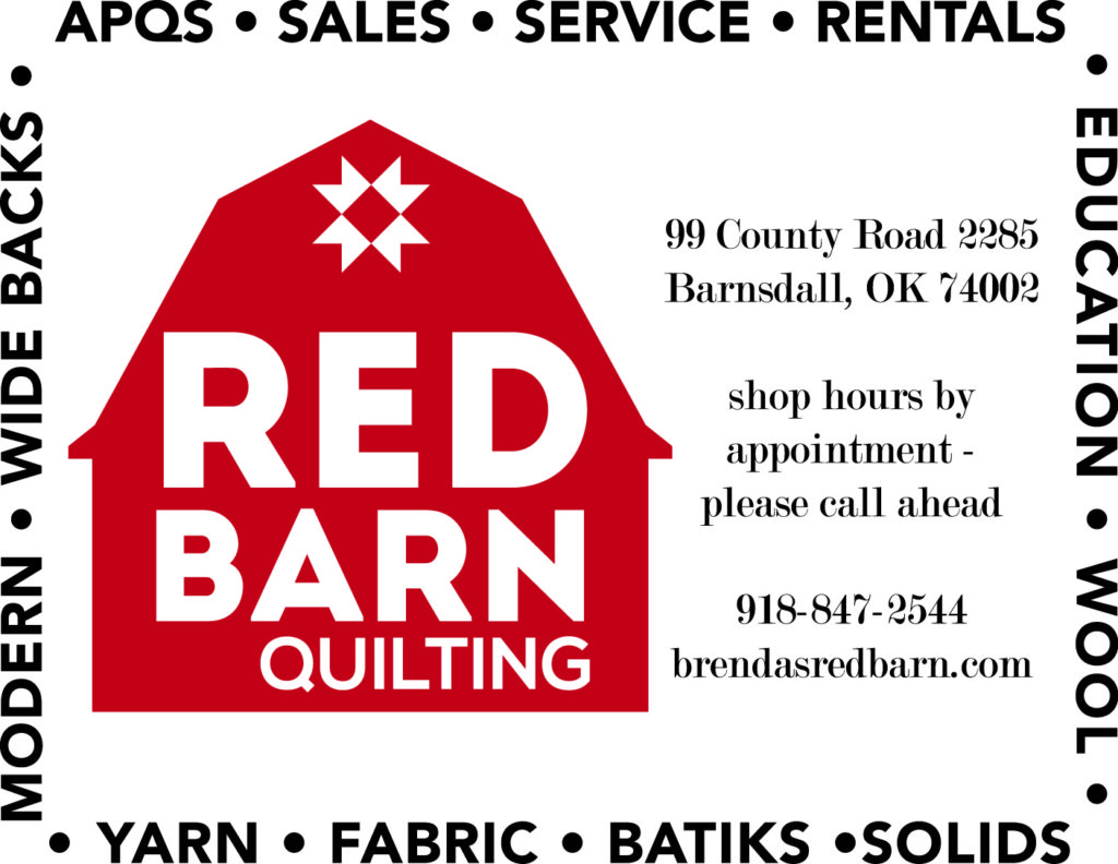 Red Barn Quilting, Barnsdall, OK