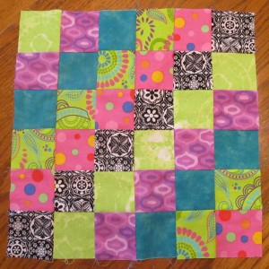 Scrappy Trip Block by Susan
